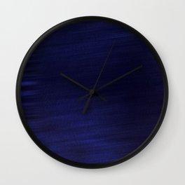 Dark Navy  Smooth Silk Wall Clock