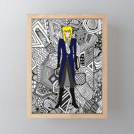 Heroes Fashion 11 Framed Mini Art Print