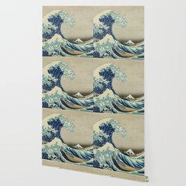 THE GREAT WAVE OFF KANAGAWA - KATSUSHIKA HOKUSAI Wallpaper