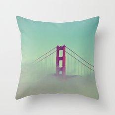 Good Morning San Francisco Throw Pillow
