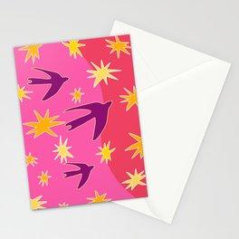 Night Birds Soar Stationery Cards