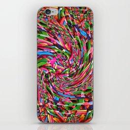 Pastel Swirl iPhone Skin