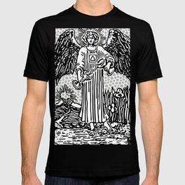 Modern Tarot Design - 14 Temperance T-shirt