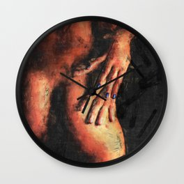 Love and passion Wall Clock