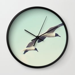 Come fly with me, let's fly, let's fly away Wall Clock