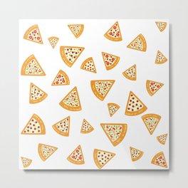 Pizza Crazy Metal Print