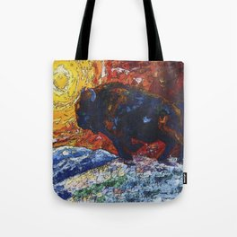 Wild the Storm Tote Bag