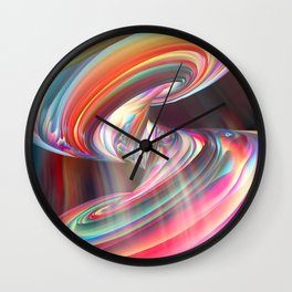 Into The Unknown LXXXV Wall Clock