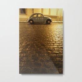 VW Beetle Metal Print