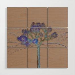 Joshua Tree Acid Wash by CREYES Wood Wall Art