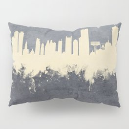 Boston Massachusetts Skyline Pillow Sham