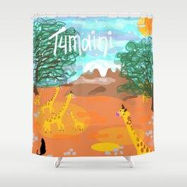 Tumaini Shower Curtain
