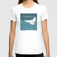 movie posters T-shirts featuring No011 My Blade Runner minimal movie poster by Chungkong