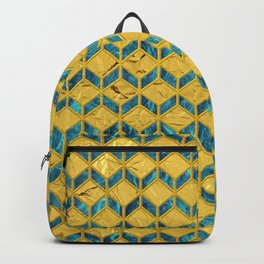 Geometric L Backpack