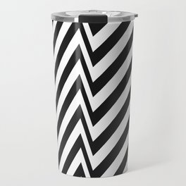Zebra Pattern Travel Mug