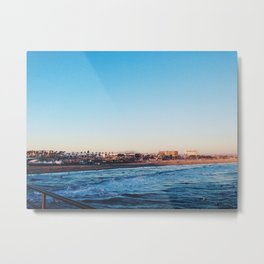 Cali Skies and Waters Metal Print