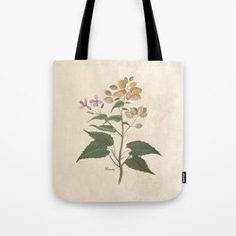 Honesty - botanical Tote Bag