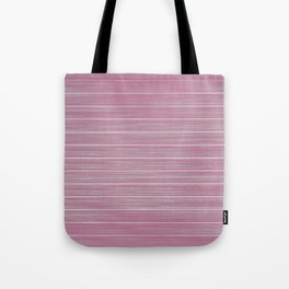 Bright Chalky Pastel Magenta Whitewashed Beach Hut Cladding Tote Bag