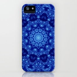 Ocean of Light Mandala iPhone Case