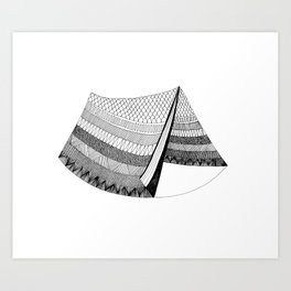The Tent Art Print