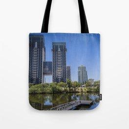 Broadbeach Lagoon Tote Bag