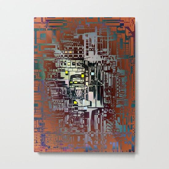 Where Are YOU - 2 / Density III Metal Print