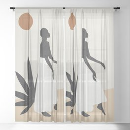 Dance Sheer Curtain