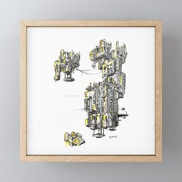 Antigravity Factory 01 Framed Mini Art Print