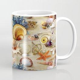 Fancy Seashells And Starfish Coffee Mug