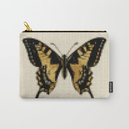 Cross Stitch Butterfly Carry-All Pouch