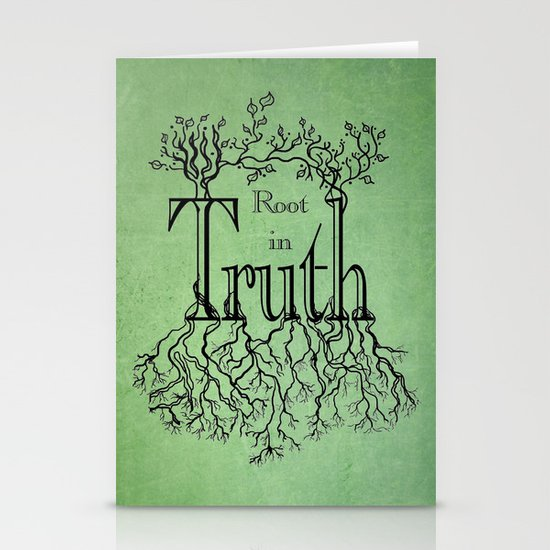 Root in Truth Stationery Cards