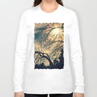 sunshine Long Sleeve T-shirts featuring Sunshine by Graphic Tabby