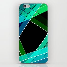 Abstract pattern 8 iPhone Skin