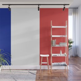 Flag of France, Authentic color & scale Wall Mural