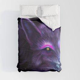 Neon Fox, Violet Comforters