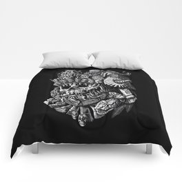 Mictlantecuhtli Comforters