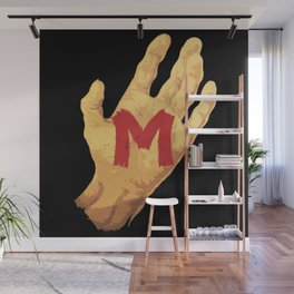 The Hand and the Murderer Wall Mural