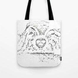 Black Headstone Tote Bag