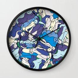 Sea Monkeys Wall Clock