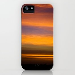 Strips of Fire iPhone Case