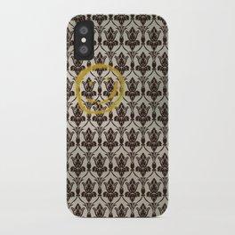 Sherlock Wallpaper Light iPhone Case