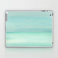 Turquoise and Teal Color block Laptop & iPad Skin