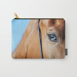 eye of horse. horse collection Carry-All Pouch