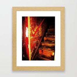 Bordello Staircase Framed Art Print