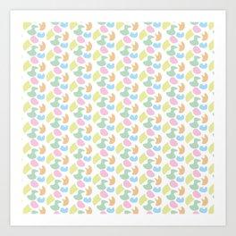 Colour me pattern... Art Print