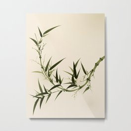 Oriental bamboo 006 Metal Print