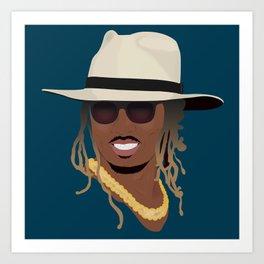 Hip Hop Portrait 8 Art Print