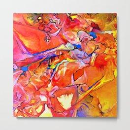 Fire Opal Impressions Metal Print