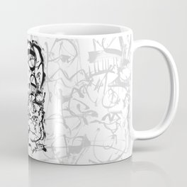 Hard Times - b&w Coffee Mug