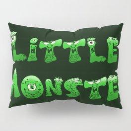 Little Monster (dark bg) Pillow Sham